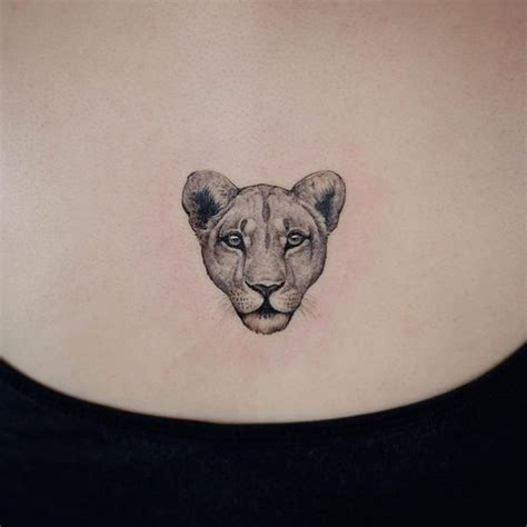 small lion head tattoo 28 small photos 64 designs for and