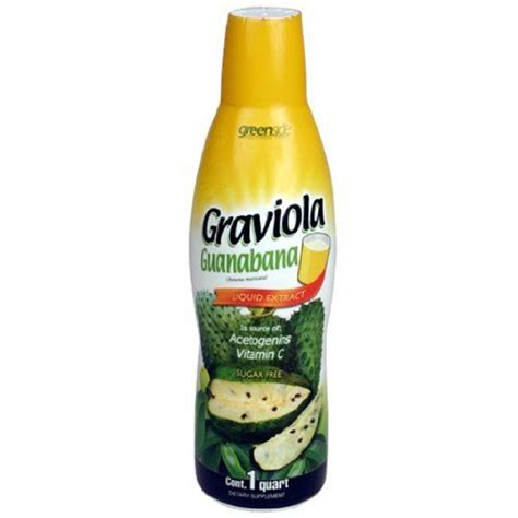 Greenside Functional Foods Detox Herbal Tea by Graviola Guanabana Liquid Papa Jim S Botanica