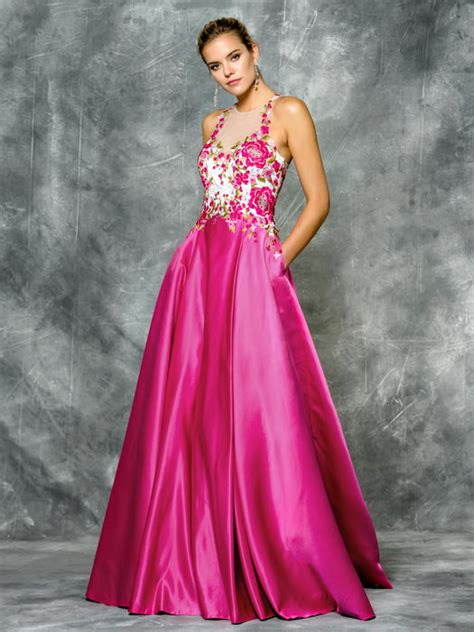 colors dress  sherri hill prom  pageant cocktail
