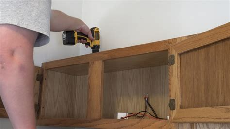 how to install cabinet led lighting above cabinet and cabinet led lighting how to