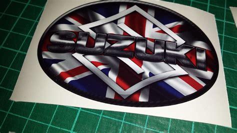 Suzuki Bandit Decals Suzuki Union Tank Decals Stickers X4 Srad Gsxr Bandit