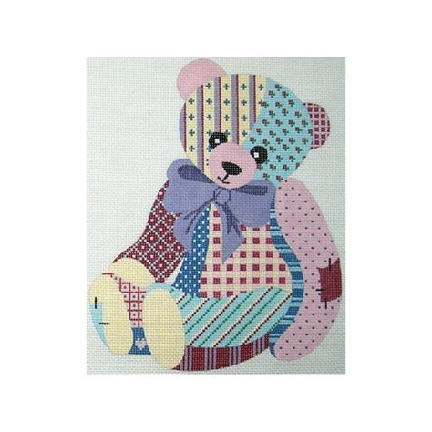 Patchwork Teddy - patchwork teddy