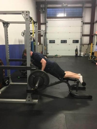 t bar row bench exercise of the week barbell chest supported row