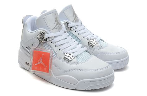 retro 4 basketball shoes nike air 4 iv retro white 308497 101 mens