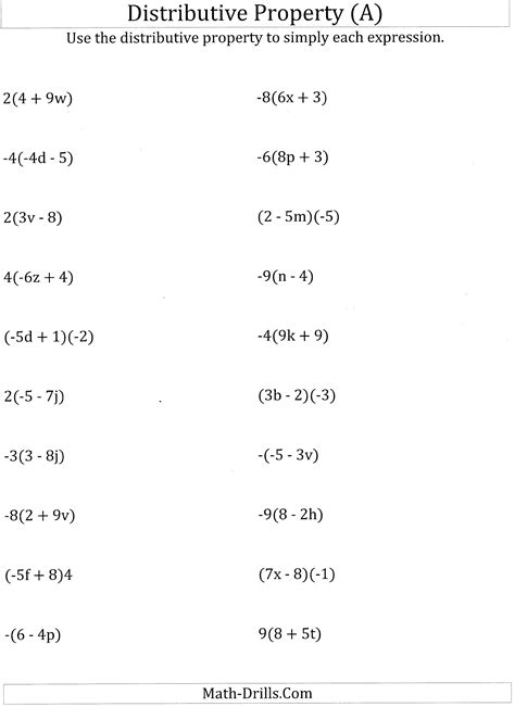 Distributive Property Solving Equations Worksheet by Worksheet 12241584 Math Worksheets Distributive Property