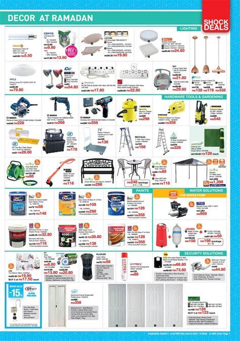 mar  apr  homepro promotion catalogue