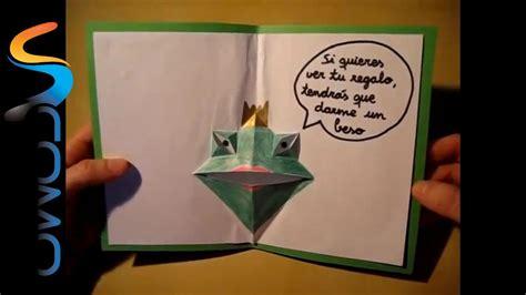 como realizar tarjetas para vender como hacer una tarjeta c 243 mo hacer una tarjeta de felicitaci 243 n de cumplea 241 os youtube