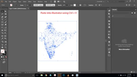 paste pattern into shape illustrator convert converting arcgis point shapefile to adobe