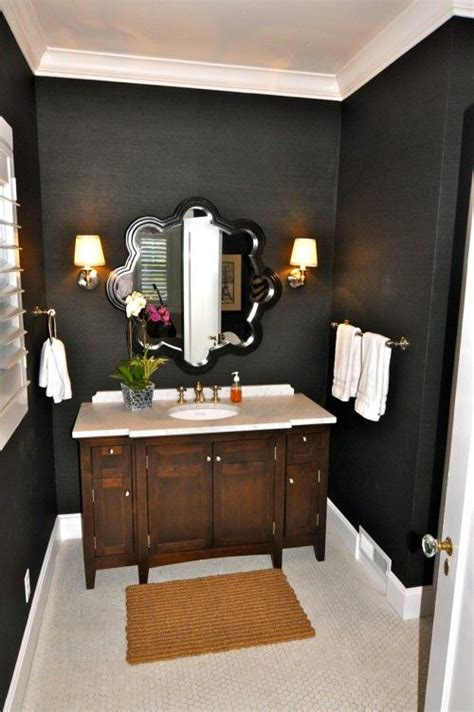 charcoal on the walls in the bathroom paint colors bathroom black walls