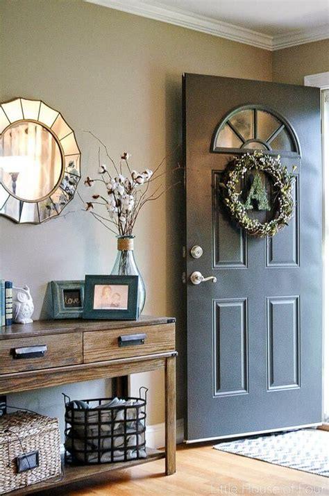 entryway decor ideas    warm welcoming