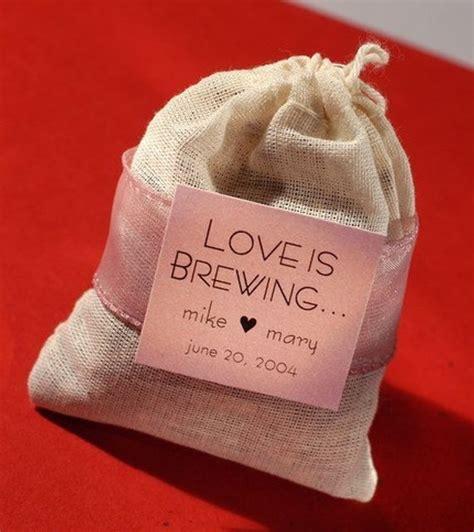 bridal shower favor bags is brewing tea bag wedding shower favor unassembled
