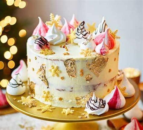 bbcchristmas cookingitems cake recipes food