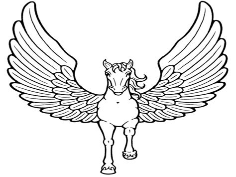 coloring pages unicorn with wings pegasus unicorn coloring pages the unicorns with wings