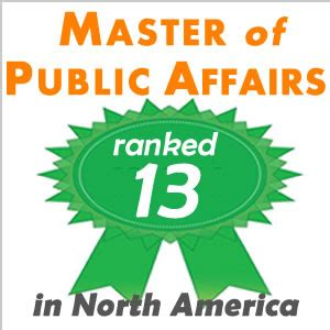Mba Mpp Program Rankings by Mpa Program Ranked 13 In America