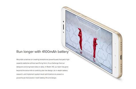 Xiaomi Redmi 4x Ram 2gb 16 Gb Gold Garansi Distributor xiaomi redmi 4x 2gb 16gb smartphone gold