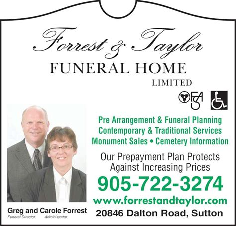 forrest funeral home limited opening hours