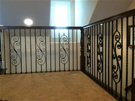 decorative banisters stair banister interior metal stair railing staircase rustic with banister framed view