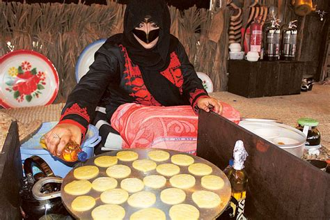 Siting qasr al hosn offers delectable traditional emirati foods