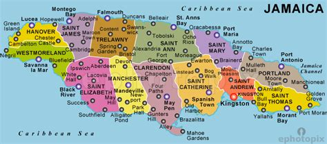 jamaica map map of jamaica from caribbean on line 9 reasons to visit jamaica
