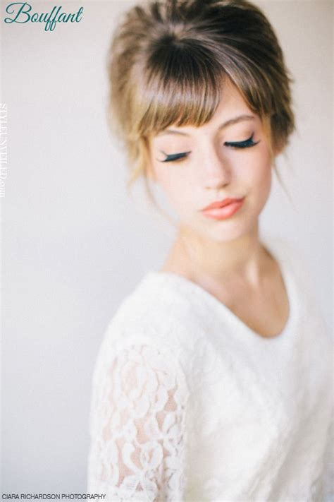finally this vintage bangs trend is making a return and 107 best 60s hair images on pinterest vintage fashion