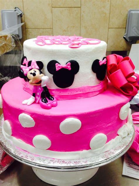minnie mouse cake  tier cake walmart cake walmart atkellymilton  bellas bday