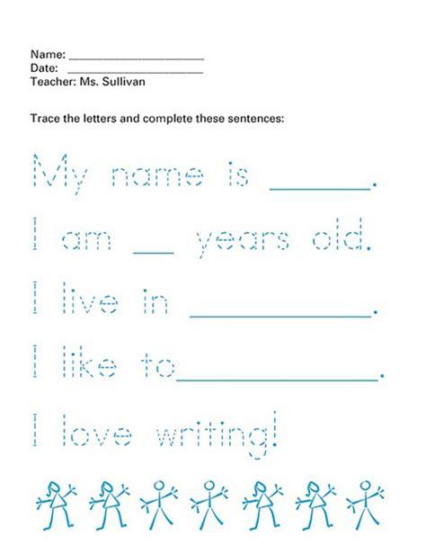 Font Letter Sle Sentences 17 Best Images About Penmanship Practice On