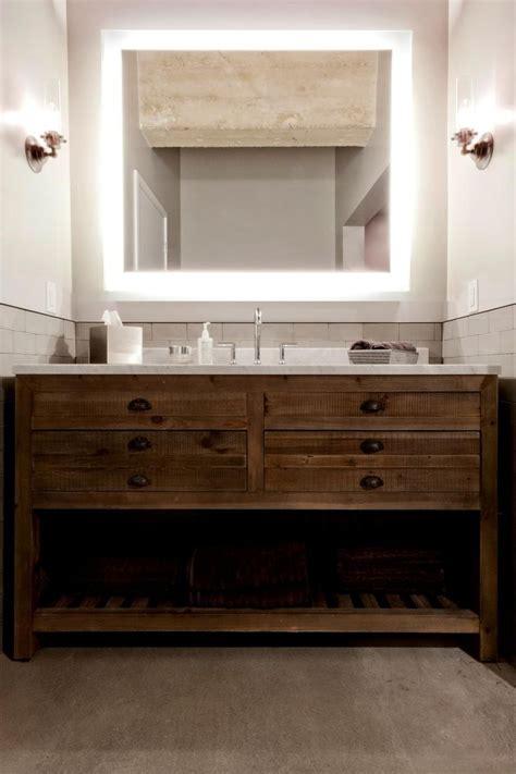 single vanity bathroom antique table repurposed bathroom staple addition marble top modern