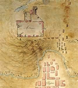 labastida s map of b 233 xar the alamo 1836 alamo studies