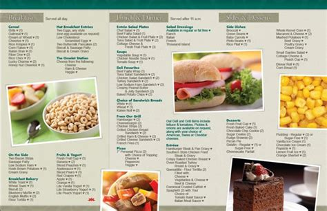 hospital menu template hospital menu ideas pictures to pin on pinsdaddy
