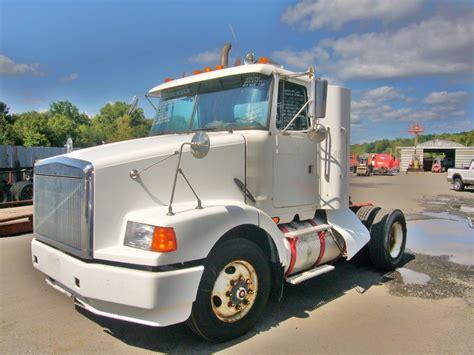 volvo wcat single axle day cab tractor  sale  arthur trovei sons  truck dealer