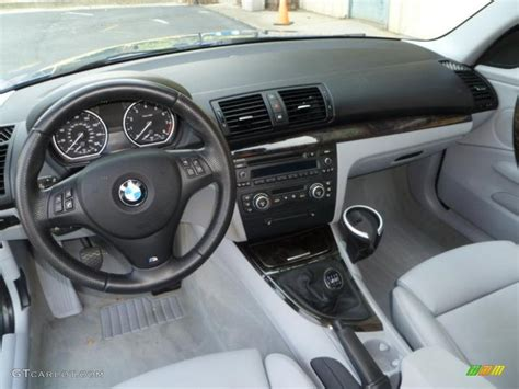 1 Series Coupe Interior by Grey Interior 2008 Bmw 1 Series 135i Coupe Photo 49707901