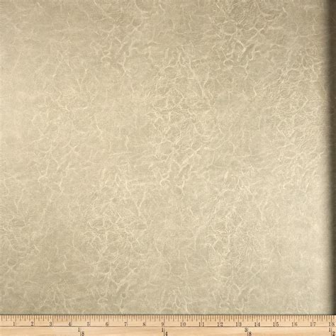 Distressed Faux Leather Upholstery Fabric by Richloom Faux Leather Distressed Schwimmer Linen