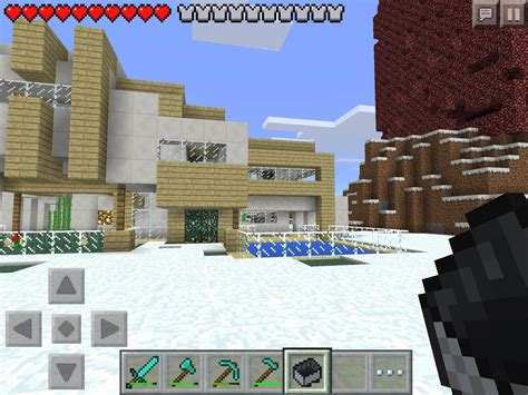 survival maps for minecraft pe mcpe survival modern house mcpe maps