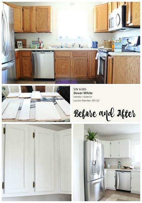 Permalink to Painting Kitchen Cabinets White