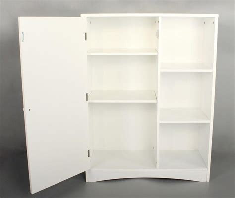 cabinet with shelf unit storage cabinet with 3 shelves cupboard painted unit