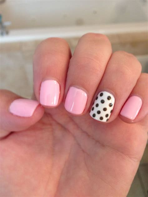 Light Pink Nails by Light Pink Nail Designs 3 Inkcloth