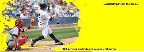 how to improve your baseball swing hitting tips to improve your baseball swing