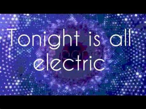 electric lyrics shake it up all electric song w lyrics