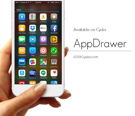 android apps on iphone appdrawer android app drawer for iphone