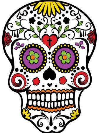 imagenes de una calaveras mexicanas calavera mexicana tatuajes para hombres imagenes y dise 241 os