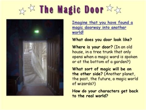 themes in narratives ks2 the magic door teaching ideas