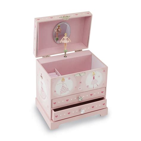 s ballerina musical jewelry box