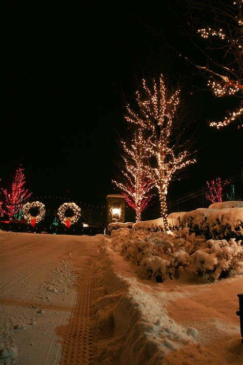 gallery holiday lighting a k landscape llc
