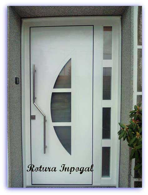 puertas entrada aluminio precios puertas aluminio inpogal