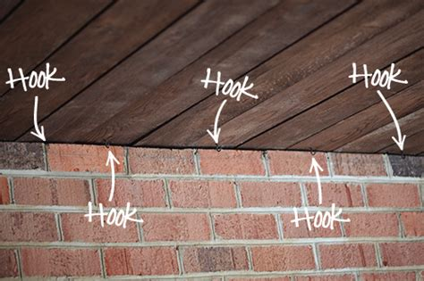 How To Install Patio Lights Installing Outdoor Happy Lights 7th House On The Left