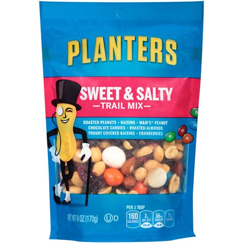 Planters Trail Mix by Upc 029000010062 Planters Trail Mix Sweet Nutty