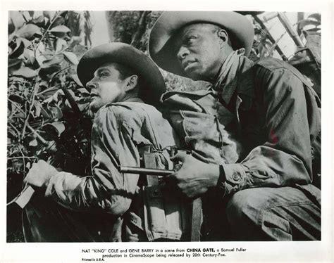 film china gate 1957 gene barry nat king cole china gate 8x10 1957