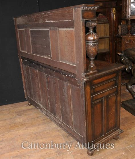 antique kitchen furniture antique oak jacobean sideboard server buffet kitchen