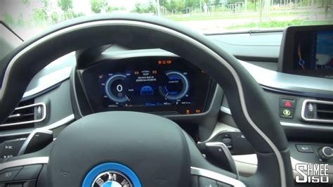 bmw inside bmw i8 interior and displays
