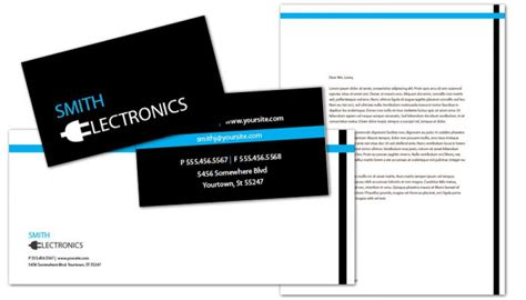 electronic business card templates business card template for audio electronics